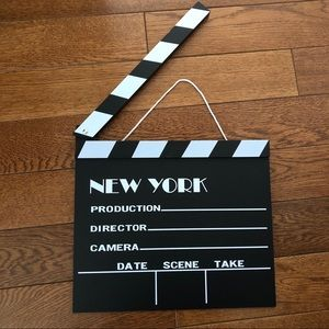 Other - New York movie clapperboard